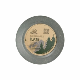Тарелка Eco Soulife SIDE PLATE 19.5см charcoal (BW11-002-CHA)