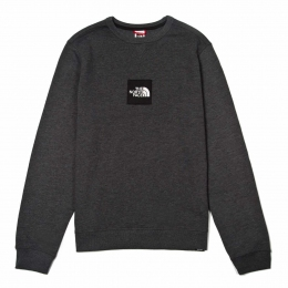 Кофта The North Face M Fine crew sweat dark grey heather (TNF T92TUW.JBU)