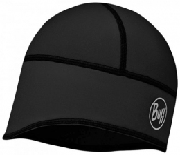 BUFF Windproof tech fleece hat solid black (BU 113388.999.10)