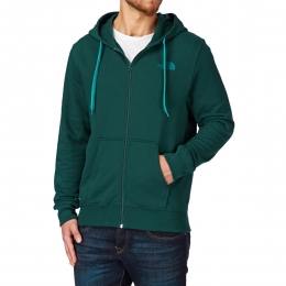 The North Face Open Gate Full Zip Hoodie  depth green