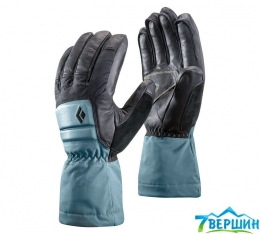 Женские горнолыжные перчатки Black Diamond Women's Spark Powder Gloves caspian (BD 801601.CSPN)