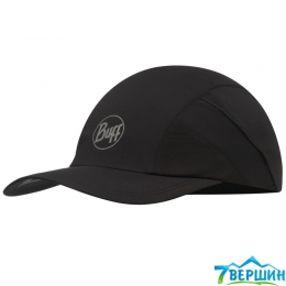 Кепка BUFF PRO RUN CAP SOLID r-black (BU 117226.999)