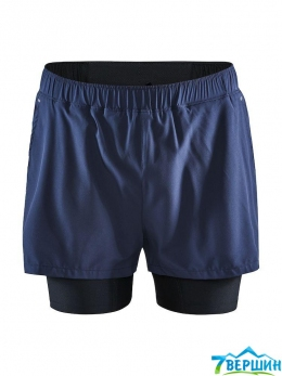 Шорти чоловічі Craft ADV ESSENCE 2-IN-1 STRETCH SHORTS M Blaze (1908764.396000)