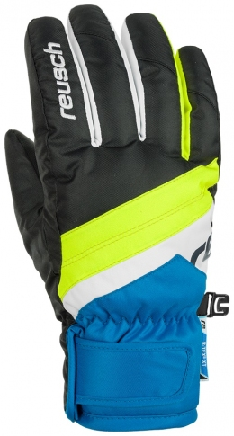 Перчатки горнолыжные Reusch Dario R-TexВ® XT Junior black/blue (4761212.760)