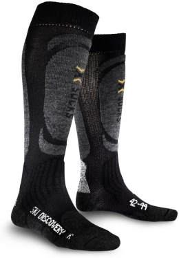 Горнолыжные термоноски X-SOCKS Skiing Discovery  (X20310-X13) Black/Antracite