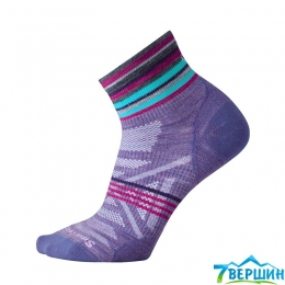 Жіночі термошкарпетки теплі Smartwool Wm's PHD Oudoor Ultra Light Mini Pattern lavender (SW 01116.511) 38-41 (M)