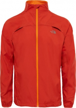 Куртка, ветровка мужская The North Face M Rapido Jacket tibetan orange (TNF T92TZJ.870)