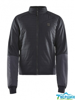 Чоловіча велокуртка Craft Hale Padded Jacket Man black / asphalt (Cr 1907822.999995)