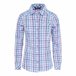 Рубашка The North Face W L/S zion shirt Coastal Fjord Blue Plaid