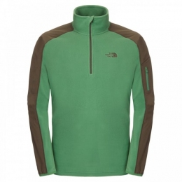 Кофта The North Face Glacier Delta 1/4 Zip sullivan green/black ink green p.XL (T0A6LJ.Y0F.XL)