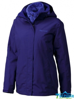 Жіноча штормова куртка 3 в 1 Marmot Wm's Cosset Component Jacket Midnight Purple (45050.6705)