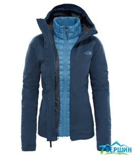 Штормова жіноча куртка, 3 в 1 The North Face Women's Thermoball Triclimate Jacket ink blue (T93BRI.40Q) Розмір L