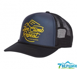 Кепка Black Diamond Flat Bill Trucker Hat Carbon/Sulfur (BD AQ3P.9112)