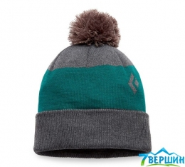 Шапка Black Diamond  Pom Beanie Carbon/Sea Pine, One Size (BD 721002.9211)