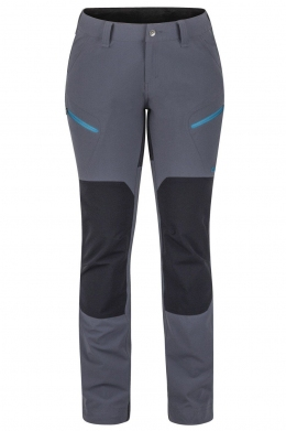 Жіночі трекінгові штани Marmot Wm's Limantour Pant Dark Steel Heather / Black (MRT 47980.1135)