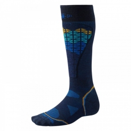 Носки  Smartwool PhD Ski Light Pattern navy (SW SW017.410)