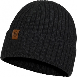 Шапка BUFF KNITTED HAT N-HELLE graphite (BU 123524.901.10.00)