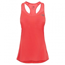 Майка спортивная женская The North Face W Runagade mesh Tank cayenne red (TNF T92UZ2.NXG)