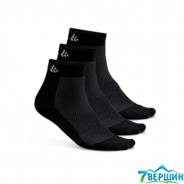 Набор носков, 3 пары Craft Greatness Mid 3-Pack Sock black (Cr 1906060.999000)