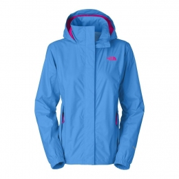 Женская штормовая куртка The North Face W Resolve Jacket clear lake blue (TNF T0AQBJ.W8G)