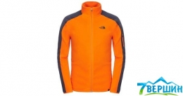 Мужская флисовая кофта The North Face Men's Glacier Delta FZ orange/spase blue (T0CG35.Y3E)
