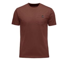 Чоловіча футболка Black Diamond M Crag Tee Red Oxide (BD 752001.6010)