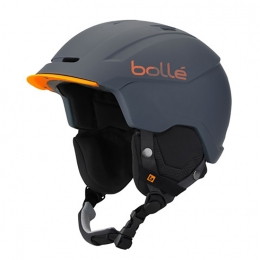 Горнолыжный шлем Bolle INSTINCT Soft Grey & Orange (BL 3141)