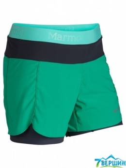 Шорты жен. Marmot Wm's Pulse Short gem green/ice green (57530.4311) Размер XS