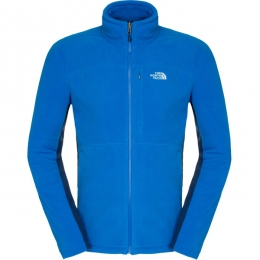 Мужская теплая флисовая кофта The North Face Men's 200 Shadow Full Zip heron blue/ ensign blue (TNF T0A43J.W1W)