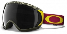 Маска Oakley Canopy Flight Series camo red yellow/dark grey (59-469)