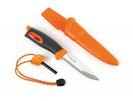 Ніж-кресало з кресалом Light My Fire FireKnife Orange Pin-pack Orange LMF 12113610