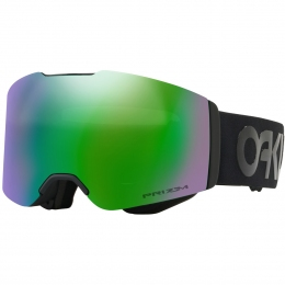 Гірськолижна маска Oakley FALL LINE Factory Pilot Blackout / Prizm Snow Jade Iridium (OO7085-13)