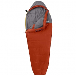 Спальник The North Face Aleutian 50/10 red clay/zinc grey (TNF A3A8RH.RCZG-R) правый