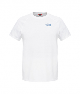 Футболка The North Face M S/S North FaceTee tnf white/tnf white (TNF CEQ8.LG5) XL