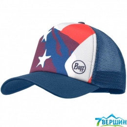 Кепка BUFF TRUCKER CAP america multi (BU 117263.555.10.00)