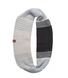 BUFF Knitted Infinity BORAE grey (BU 116042.937.10)