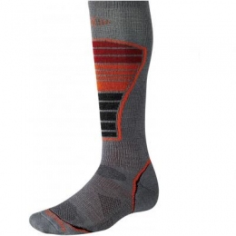 Лыжные носки Smartwool PhD Ski Light graphite, размер 38-41 (SW 005.018-M)