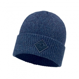 BUFF KNITTED HAT PAVEL medieval blue (BU 117883.783.10.00)