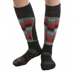 Лыжные носки Smartwool Ski Medium Pattern black/red (SW SW018.626)