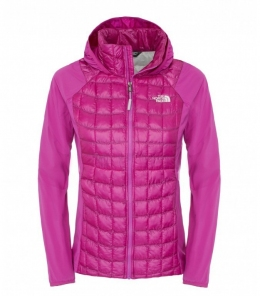 Куртка The North Face W Thermoball Hybrid Hoodie fsch pk/fsc (TNF CUN6.GJ9)