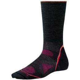 Носки Smartwool Women's PhD Outdoor Ultra Light Crew charcoal (SW SW051.003)