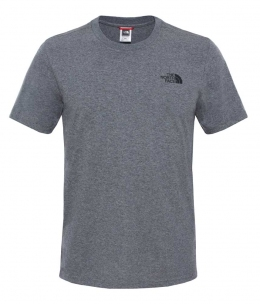 Футболка The North Face S/S Simple Dom Tee medium grey heather p.XL (TNF T92TX5.JBV)