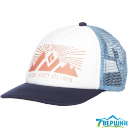 Кепка жіноча Black Diamond W Trucker Hat White/Blue Ash, One Size (BD 723007.9026)