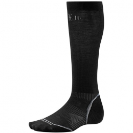 Носки Smartwool PhD Ski Graduated Compression Ultra Light  black (SW SW001.001)